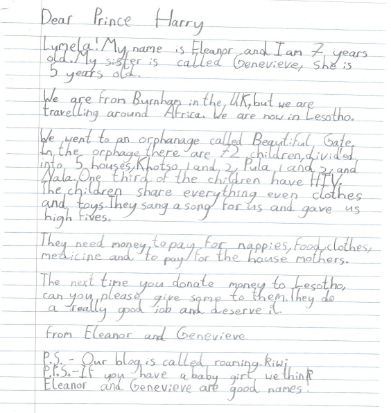 Eleanor Letter